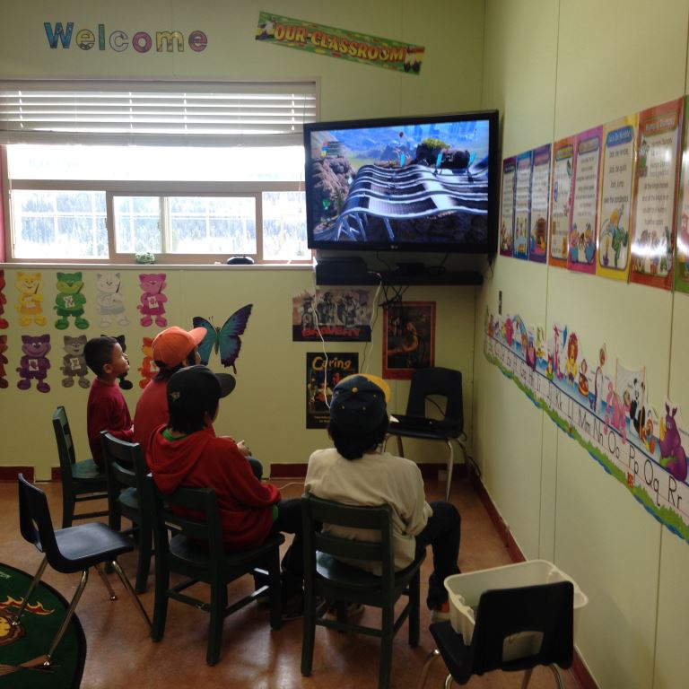 school entertainment room